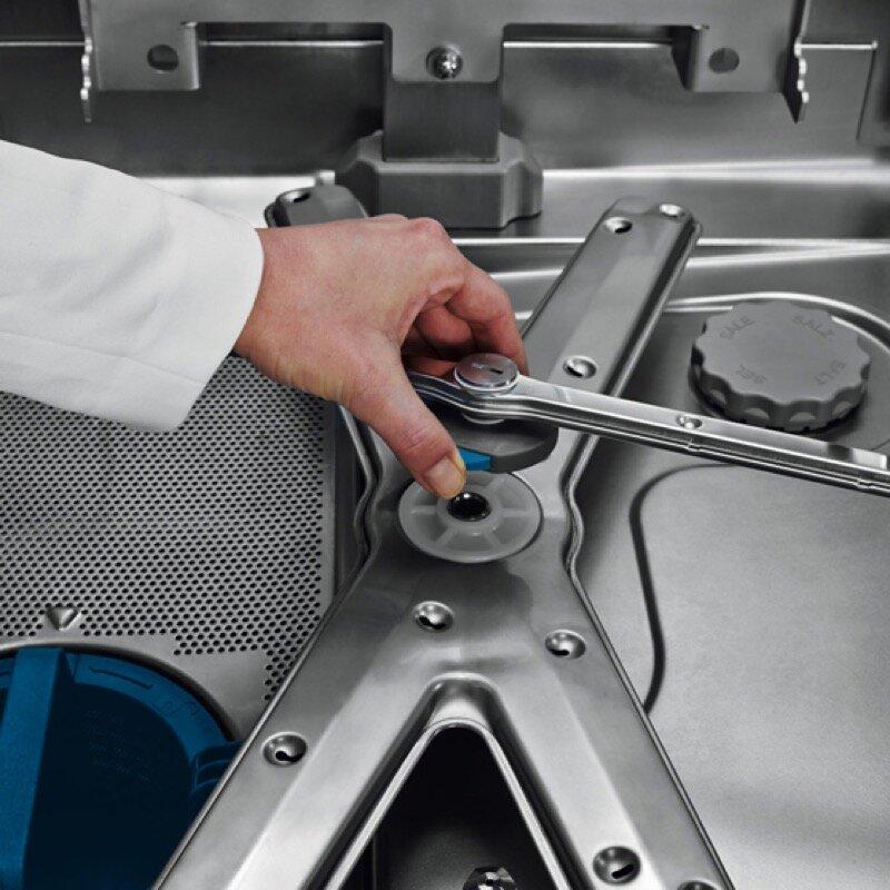 Hobart Haubenspülmaschine PROFI AMXXLS inkl  Wasserenthärtung